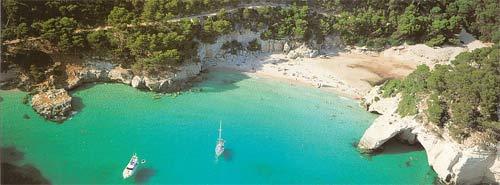 Playas Menorca: Cala Mitjana